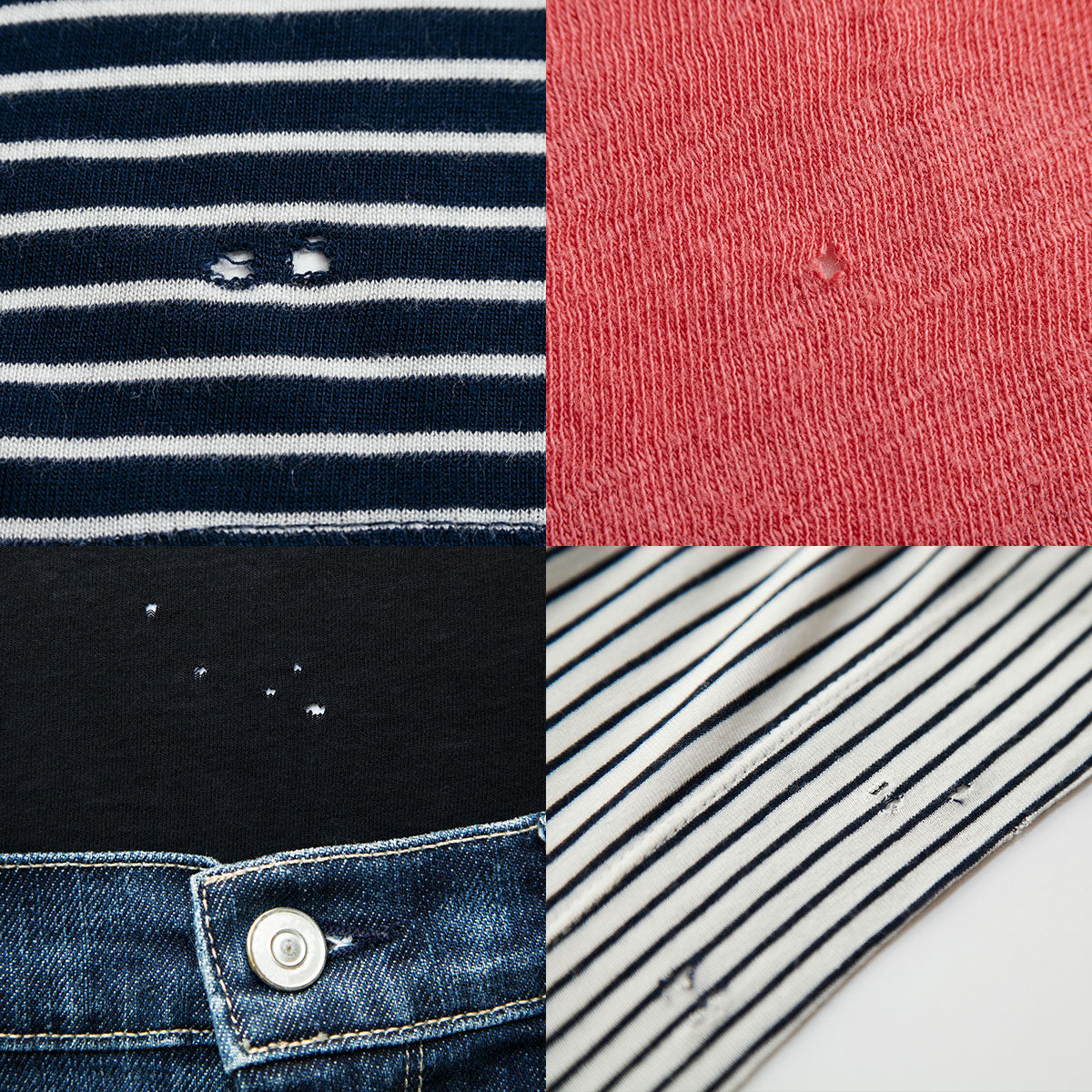 Mysterious holes at the bottom of your top or shirt