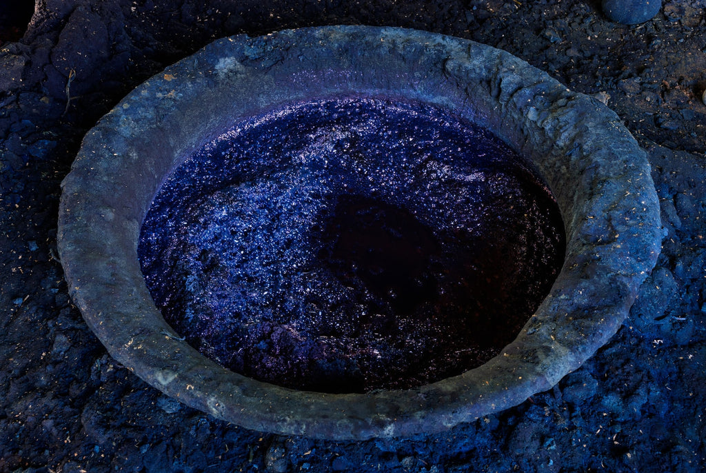 indigo blue dye for denim