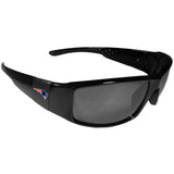 New England Patriots Black Wrap Sunglasses