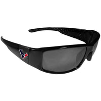 Houston Texans Black Wrap Sunglasses