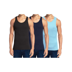 Men's Heavyweight Ribbed Tank Top - 3 Pack