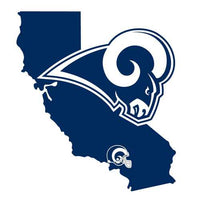 Los Angeles Rams Decal Home State Pride
