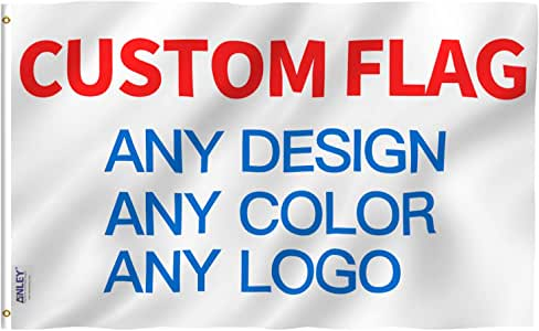 Custom 3X5 ft Flags with Your Design - X MAX SPORTS
