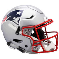 New England Patriots Helmet Riddell Authentic Full Size SpeedFlex Style