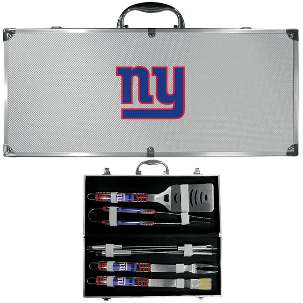 New York Giants 8 pc Tailgater BBQ Set