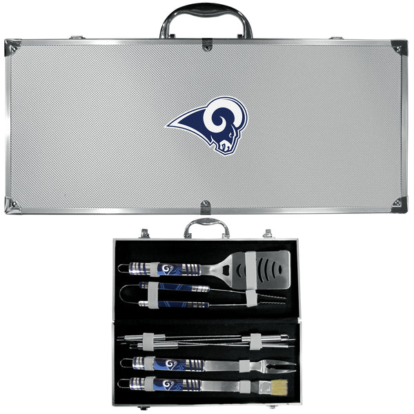 Los Angeles Rams 8 pc Tailgater BBQ Set