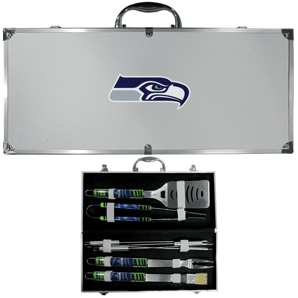 Seattle Seahawks 8 pc Tailgater BBQ Set