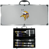 Minnesota Vikings 8 pc Tailgater BBQ Set