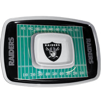 Las Vegas Raiders Chip and Dip Tray