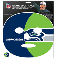 Seattle Seahawks Game Face Temporary Tattoo