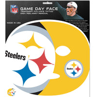 Pittsburgh Steelers Game Face Temporary Tattoo
