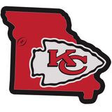 Kansas City Chiefs Home State 11 Inch Magnet