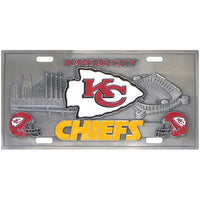 Kansas City Chiefs Collector's License Plate Special Addition