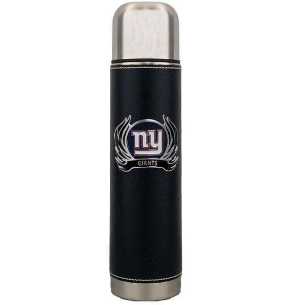 New York Giants Thermos with Flame Emblem