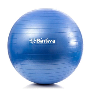 Bintiva Yoga Mat Towel  Stability Yoga Ball  and Mini Pilates Ball