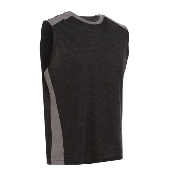 Men's Active Athletic Dry-Fit Performance Tank Tops - 6 Pack