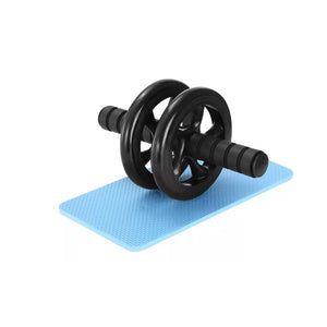 Ab Roller Exercise Wheel with Easy Grip Handles and Knee Pad