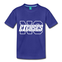 No Excuses Kids' Premium T-Shirt #6237672 - X MAX SPORTS