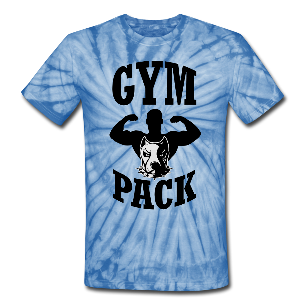 Gym Pack Unisex Tie Dye T-Shirt #2552442009 - X MAX SPORTS