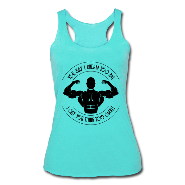 Women's Tri-Blend Racerback Tank - X MAX SPORTS