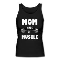Made Of Muscle Women's Longer Length Fitted Tank #73676600 - X MAX SPORTS