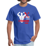 X Max Strongman Team Official Men's T-Shirt #4245155 - X MAX SPORTS