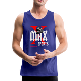 X Max Sports Men's Premium Tank #4233255 - royal blue