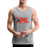 X Max Sports Men's Premium Tank #244233 - heather gray