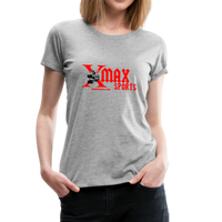 X max Sports Women's Premium T-Shirt 10 Colors to Choose From #434555 - heather gray