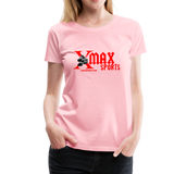X max Sports Women's Premium T-Shirt 10 Colors to Choose From #434555 - pink
