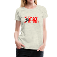 X max Sports Women's Premium T-Shirt 10 Colors to Choose From #434555 - heather oatmeal