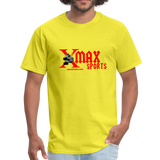 X Max Sports Unisex Classic T-Shirt #42332 - yellow