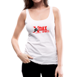 X Max Women's Premium Tank Top #66577 - white