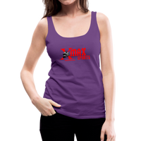 X Max Women's Premium Tank Top #66577 - purple