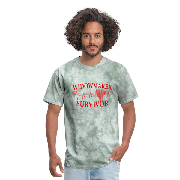 Widow Maker Survivor Unisex Classic T-Shirt #355344 - military green tie dye