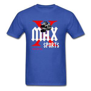 X Max Unisex Classic T-Shirt #88676009 - royal blue