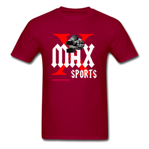X Max Unisex Classic T-Shirt #88676009 - dark red