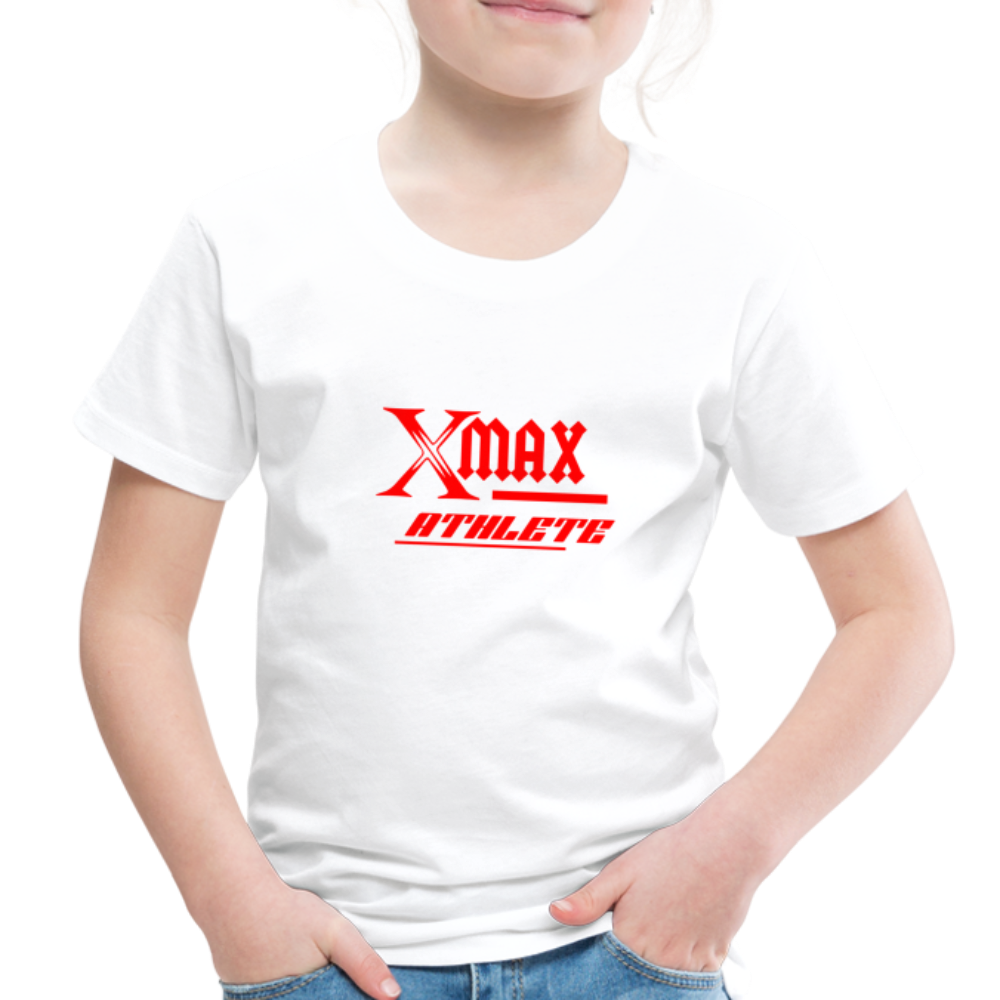 X Max Athlete Toddler Premium T-Shirt #74839939 - white