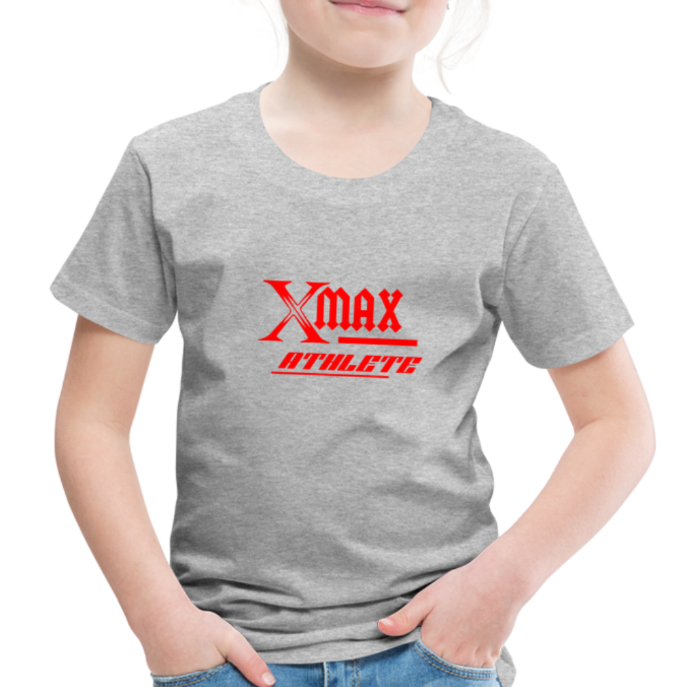 X Max Athlete Toddler Premium T-Shirt #74839939 - heather gray