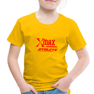 X Max Athlete Toddler Premium T-Shirt #74839939 - sun yellow