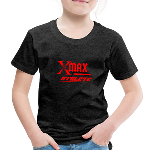 X Max Athlete Toddler Premium T-Shirt #74839939 - charcoal gray
