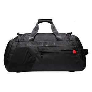 Motion 32  20L Duffel Bag with Sweat Control Shoe Compartment  Water Resistant - Black