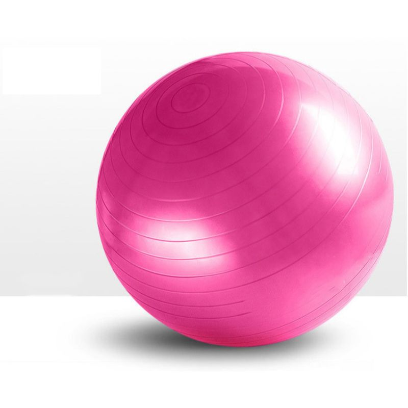Non-Slip Yoga Stability Ball with Inflator