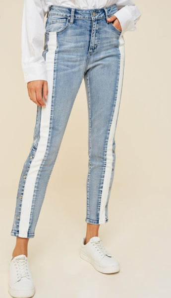 Stellar Snap Button Jeans