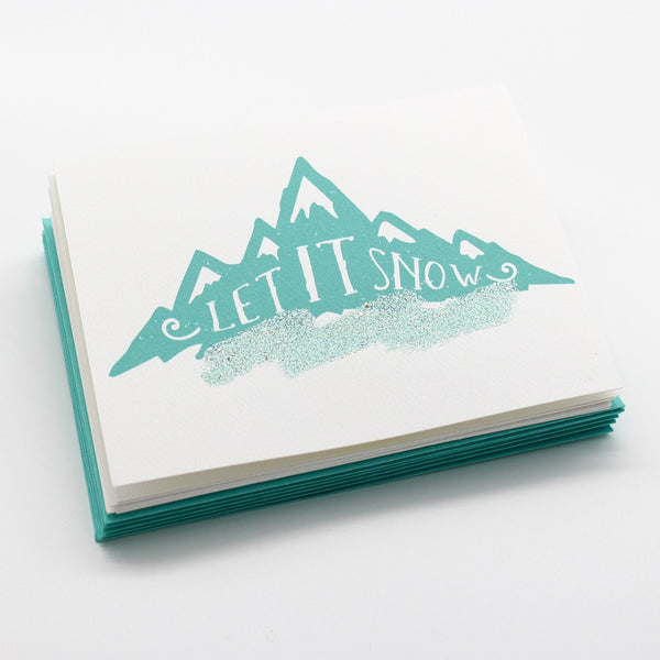 Snowy Mountains Boxed Cards