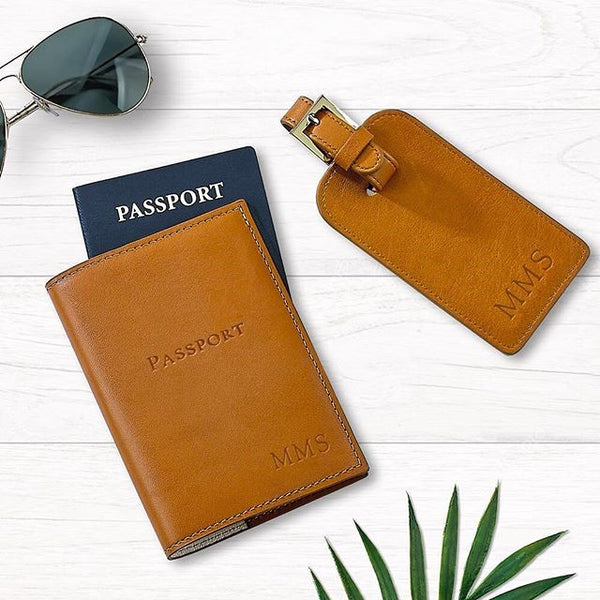 Passport and Luggage Tag Set