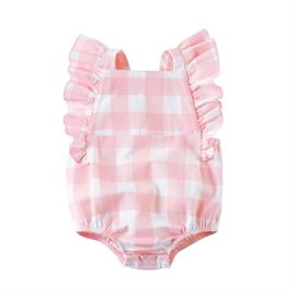 Gingham Ruffle Sunsuit