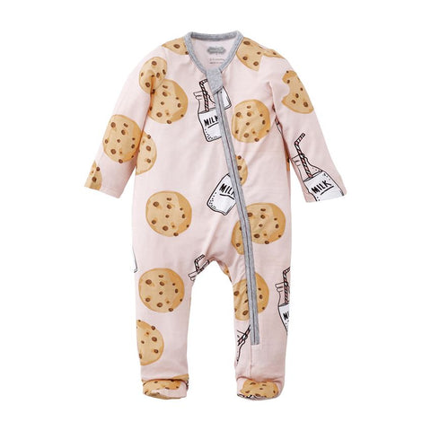 Cookie Sleeper Onesie - Pink