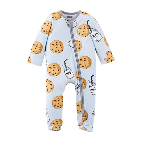 Cookie Sleeper Onesie - Blue