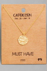 Astrological Sign Necklace